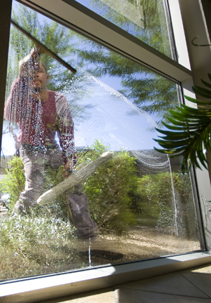 Even your standard glass cleaner can be an issue.