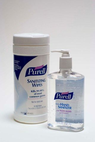 Sanitizing wipes could keep the payables person healthy...