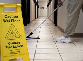 janitorial worker Safety