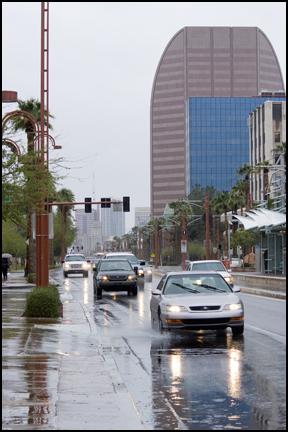Summer storm in Phoenix
