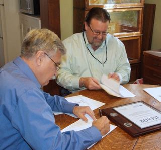 Signing our IMAGE contract