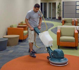 low moisture soil encapsulation carpet cleaning