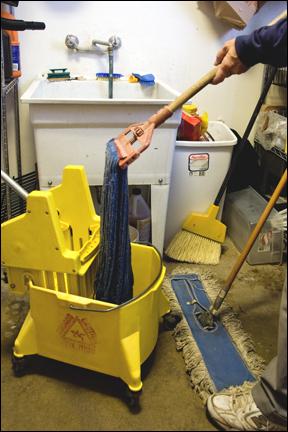 Janitor closet violations