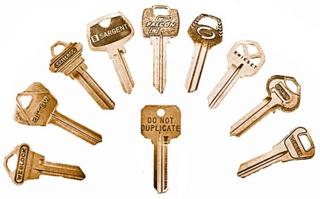 Neuter bow Keys