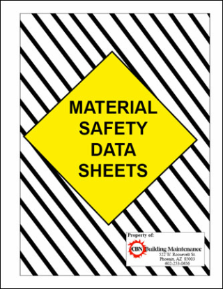 Chemical safety, always a concern